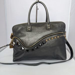Marc Jacobs metallic Jewel satchel handbag Limited